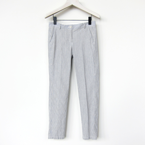 Hartford stripe ankle pant