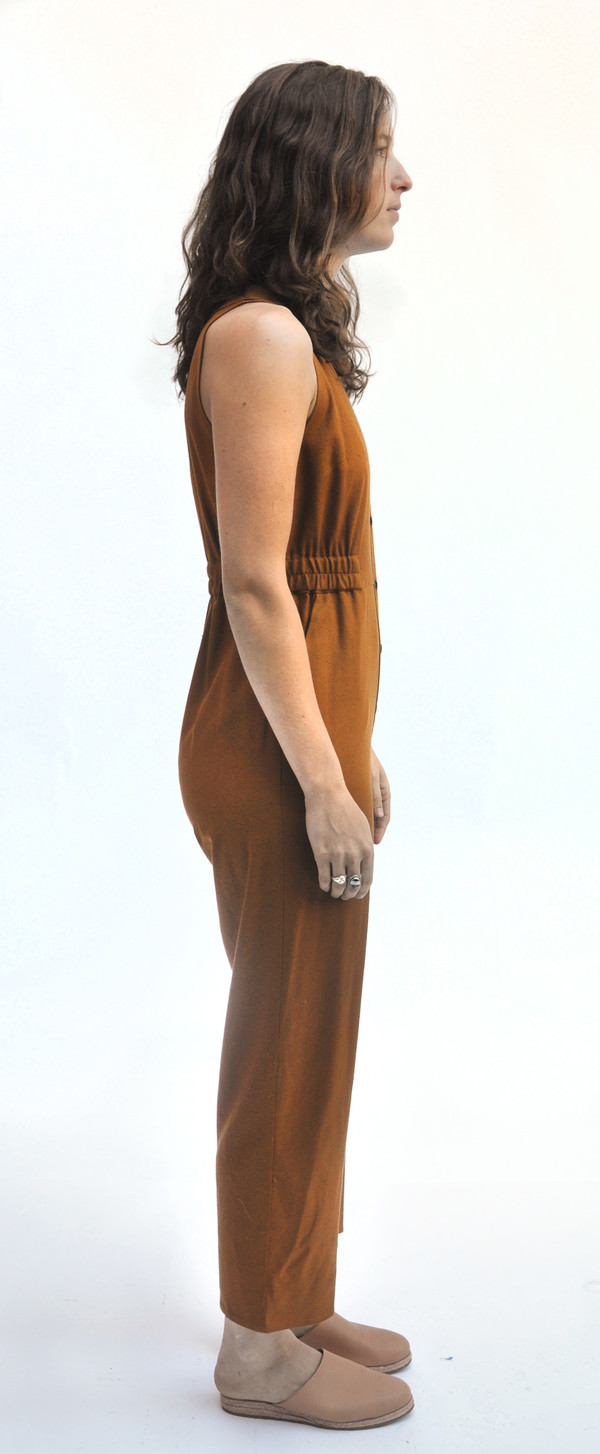 Dusen Dusen Copper Jumpsuit