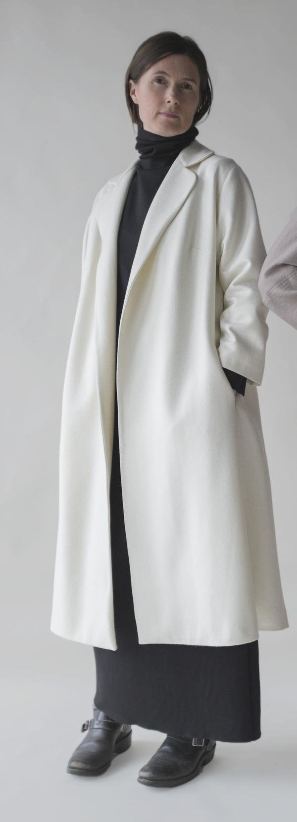 Sunja Link Coat Crombie Coat