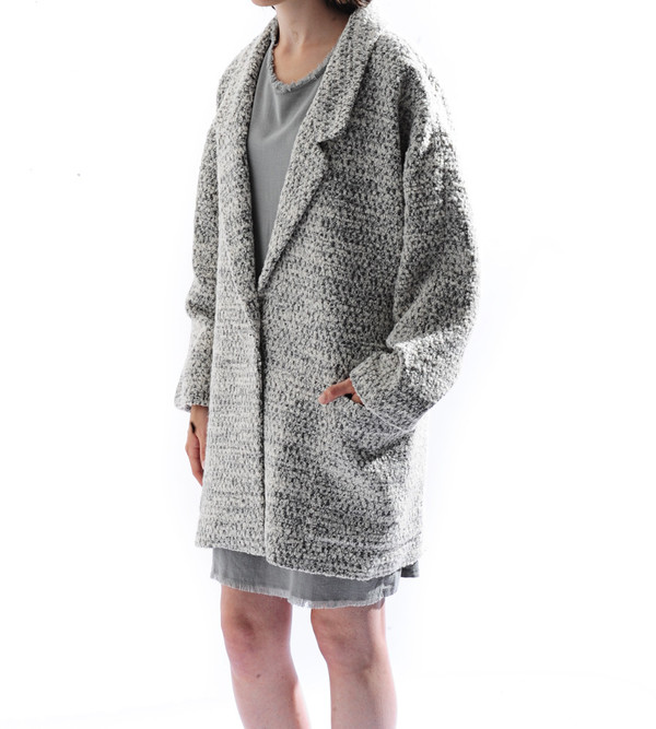 Apiece Apart Vita Oversized Collar Coat