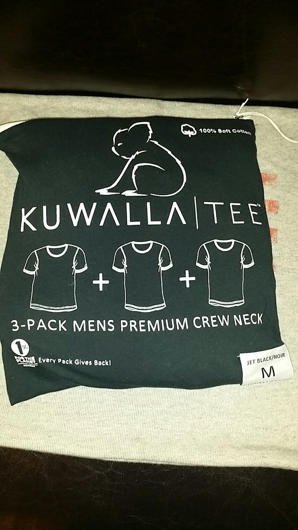 Men's KuwallaTee - 3 Pack T-Shirts Black