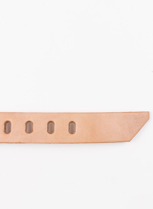 Men's Tender Brass Spiral Buckle Belt