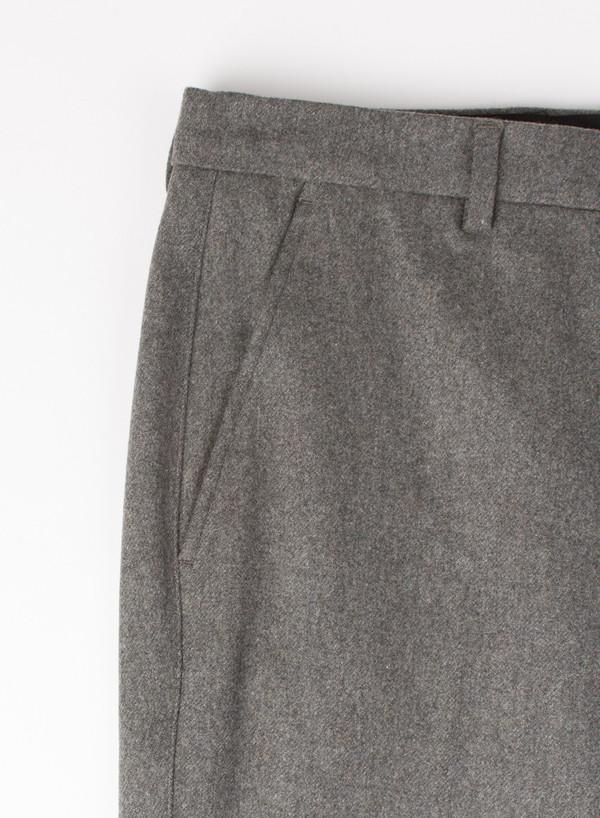 Men's AMI Alexandre Mattiusi Carrot Fit Trouser Flannel Grey