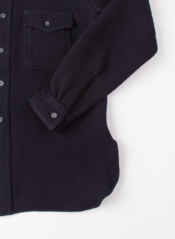 Men's Needles CPO Indigo Melton Wool