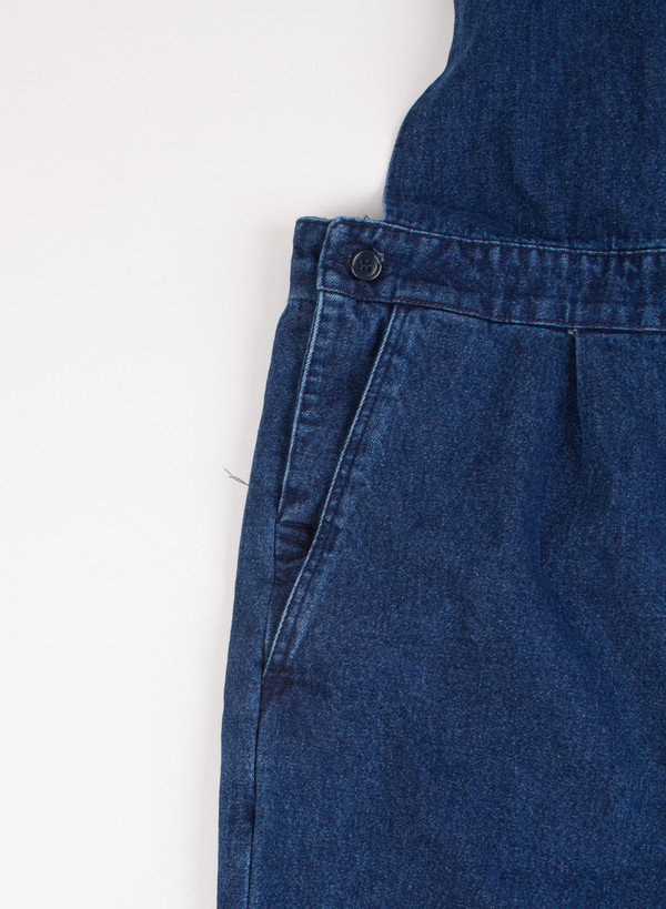 Men's Camo Flughafen Salopette Jeans