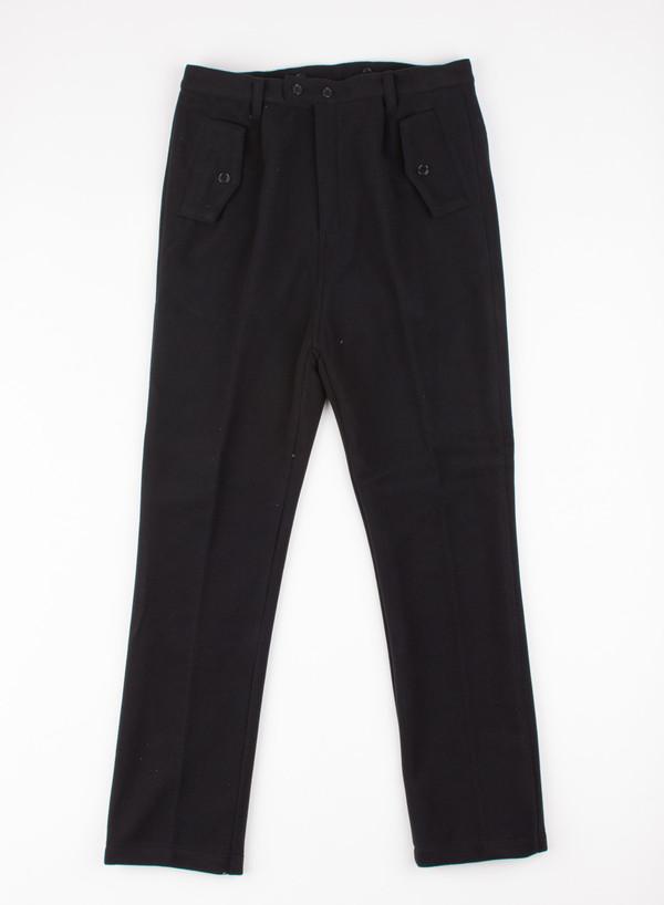 Men's Camo Forchetta Camo Trousers Pile Black
