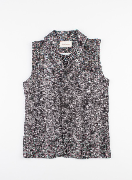 Men's Oliver Spencer Grove Gilet Grove Black