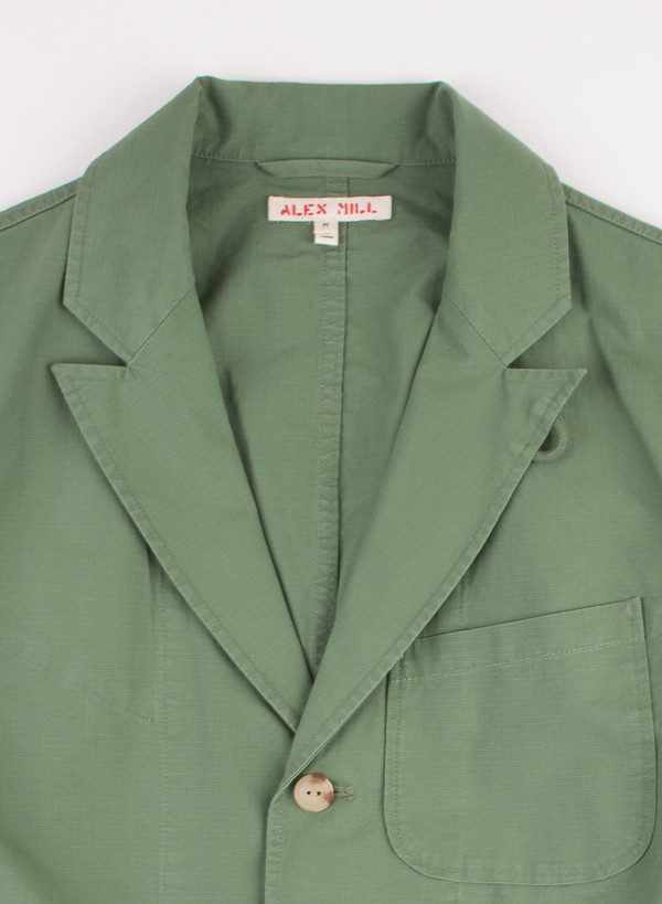 Men's Alex Mill Peaked Lapel Sportcoat Green