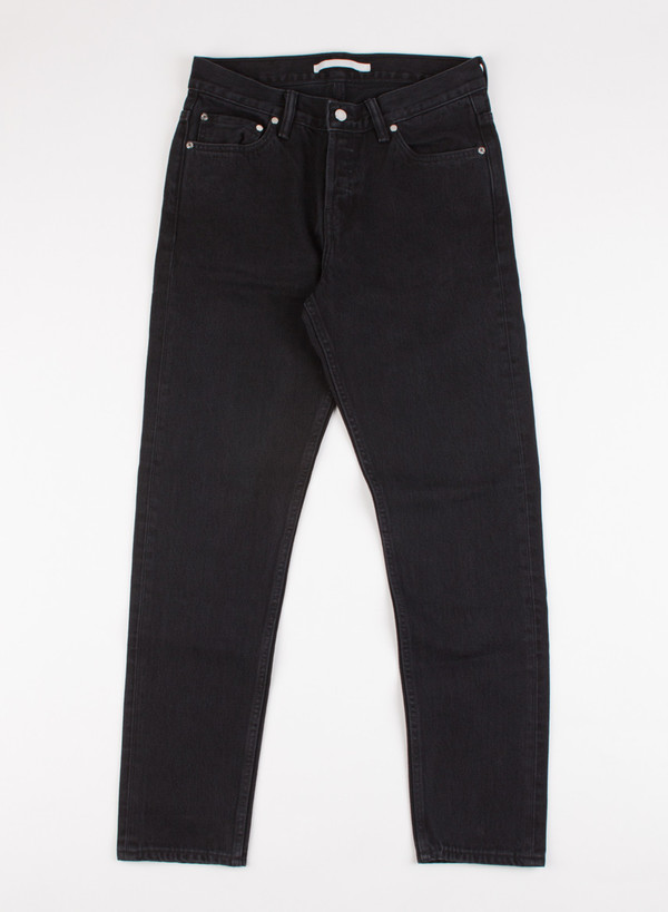 Mens' Norse Projects Slim Denim Black Rinsed