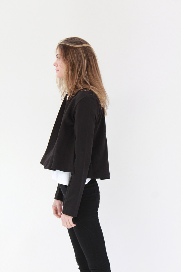 Kowtow Boundless Cardigan Black