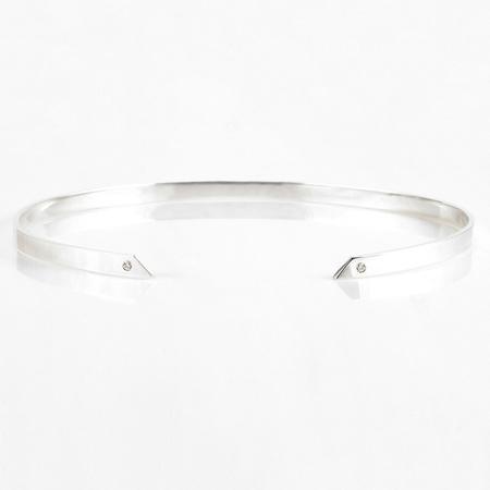 TARA 4779 Void Choker - Silver