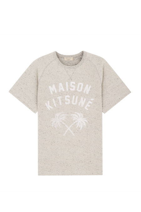 Men's Kitsune Palm Tree Fleece | Grey