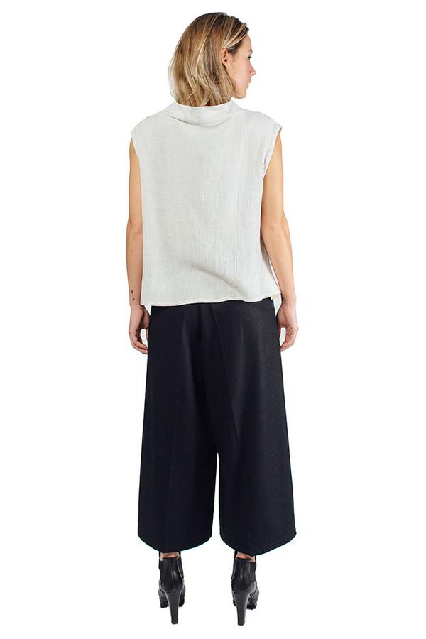 Dore Wool Pants Black