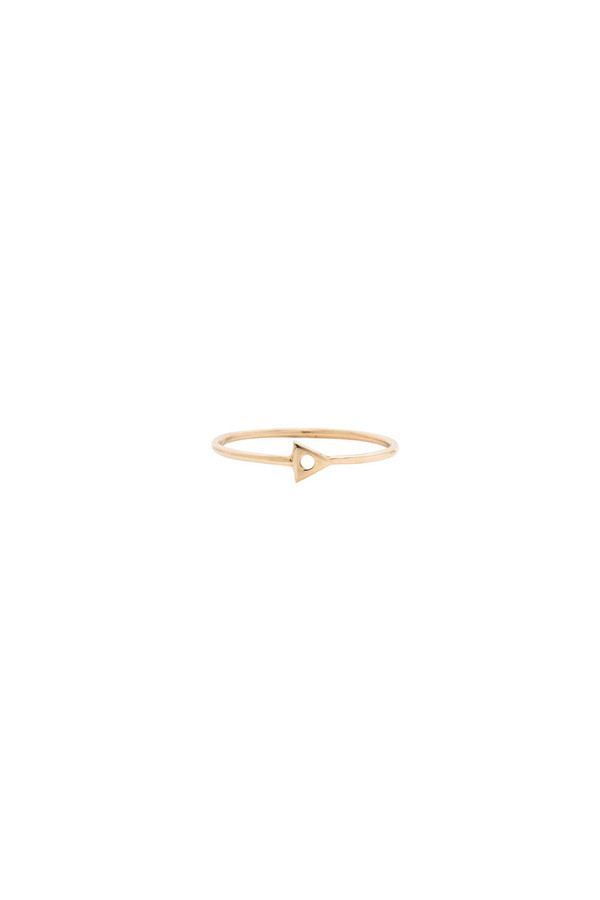 Mociun Mini Triangle Ring 14KYG