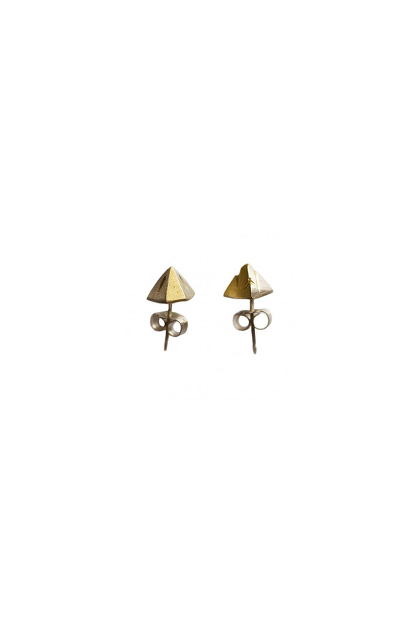 Mociun Mountain Earrings 14K Gold Plated
