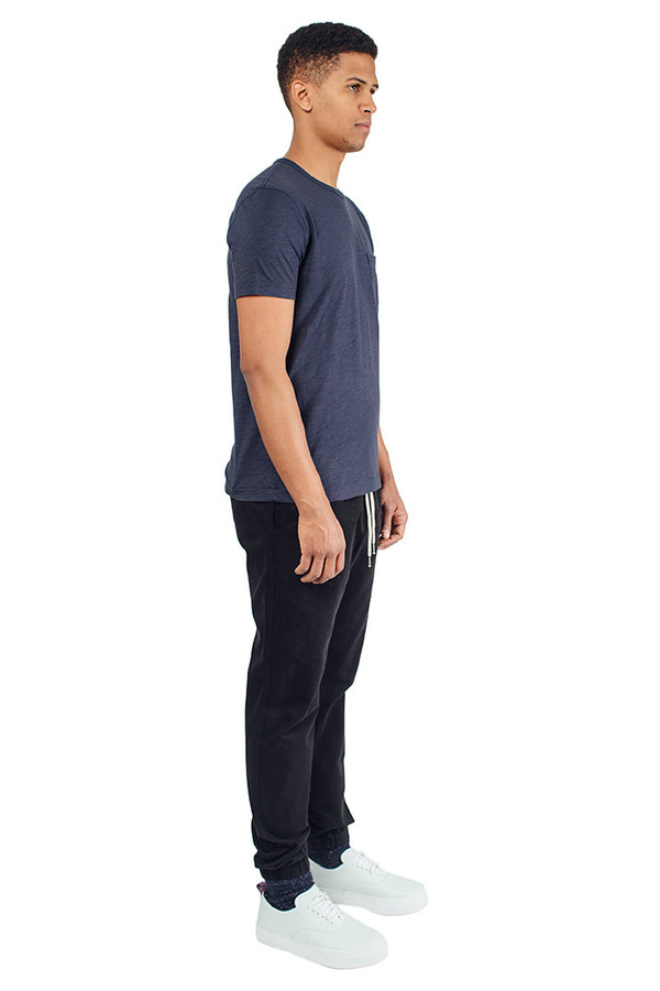 Men's YMC Pocket Tee Shirt Navy