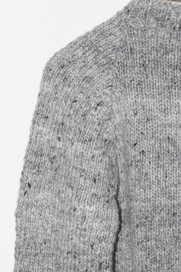 Men's Chamula Wool Crewneck Pullover - Pearl Heather
