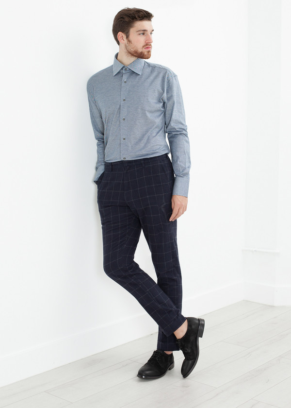 Men's Circle of Gentlemen Austin Shirt in Blue