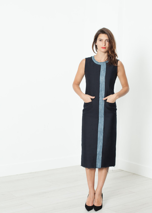 Ter et Bantine Denim Dress in Denim
