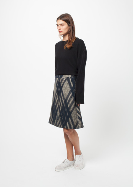 Odeeh Diamond Plaid Skirt