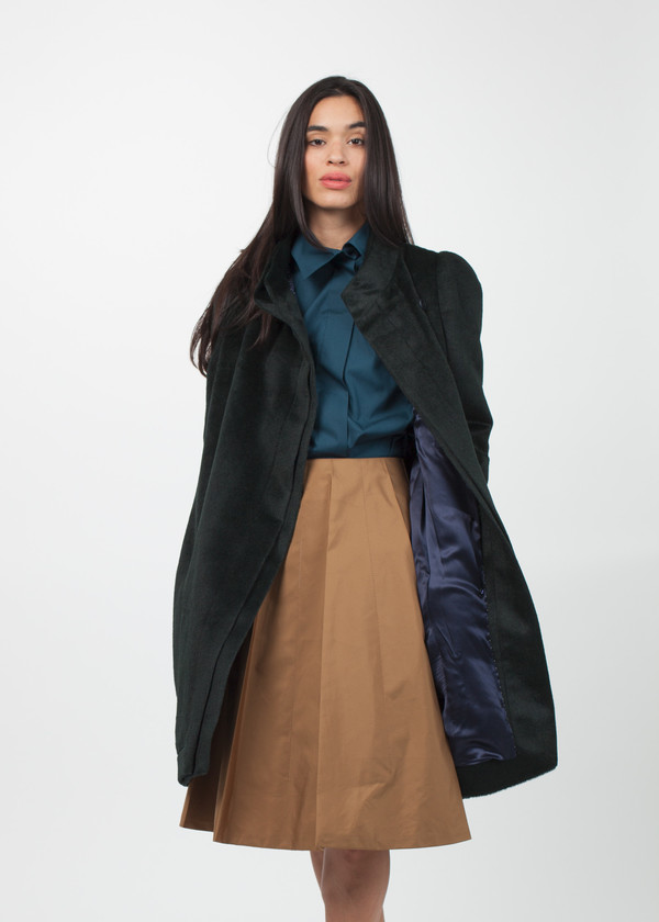 Gianfranco Scotti Double Collar Coat