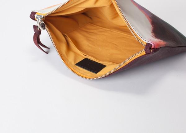 ZUBI Irati Yellow Leather Midi