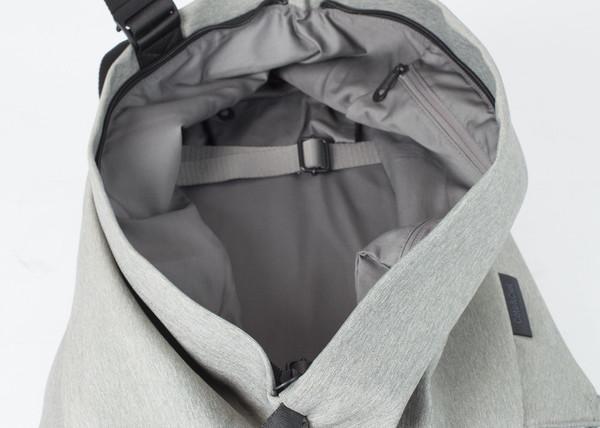 Cote & Ciel Isar Rucksack in Grey Melange