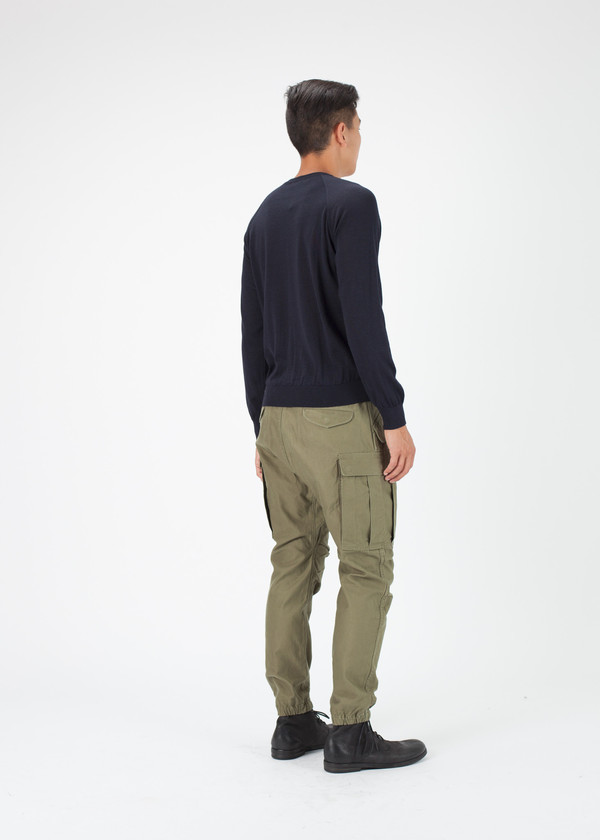 Men's Avant Toi Lightweight Long Sleeve Sweater