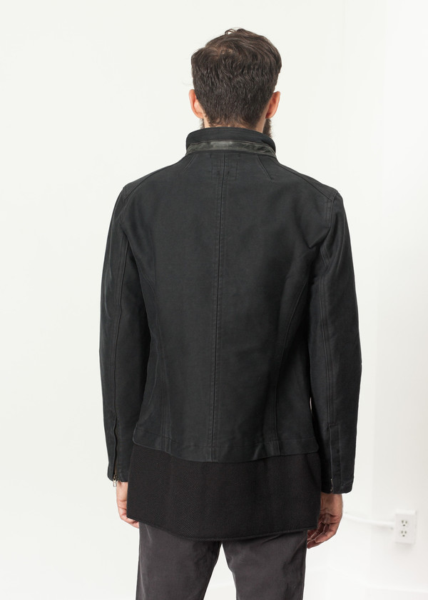 Men's Hannes Roether Morten Jacket in Black