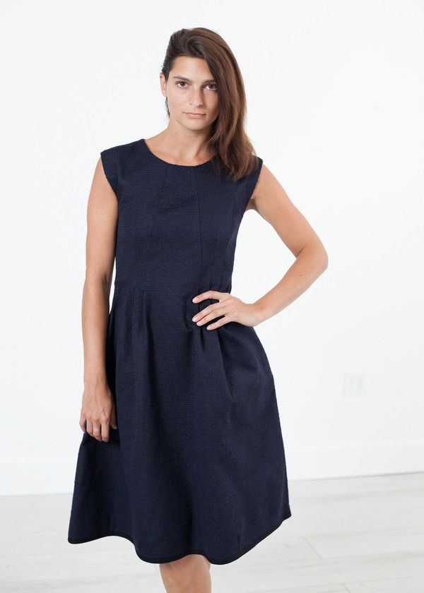 Ter et Bantine Pleated Rita Dress