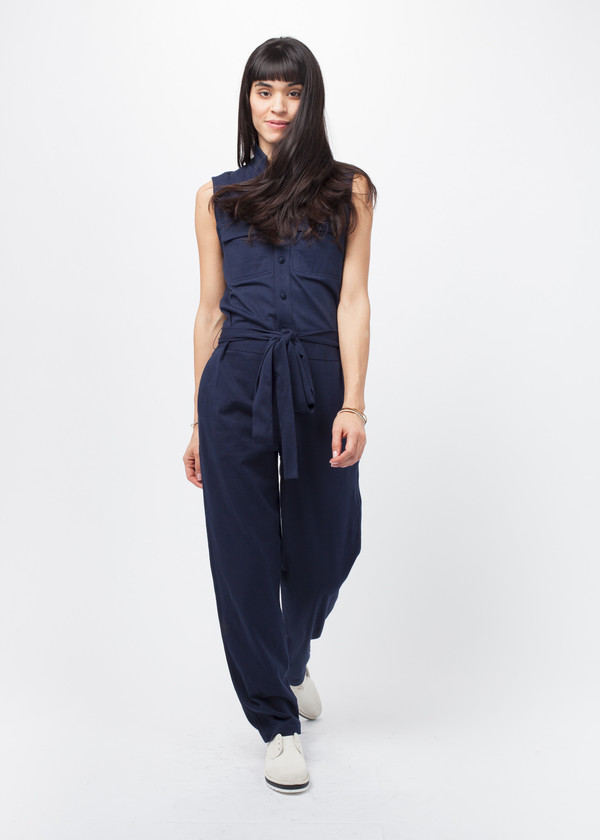 Harvey Faircloth Sleeveless Jumpsuit