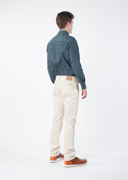 Men's Shockoe Slim Six Natural Denim