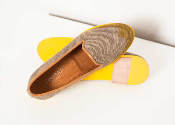 Verba Wingtip Loafer in Yellow