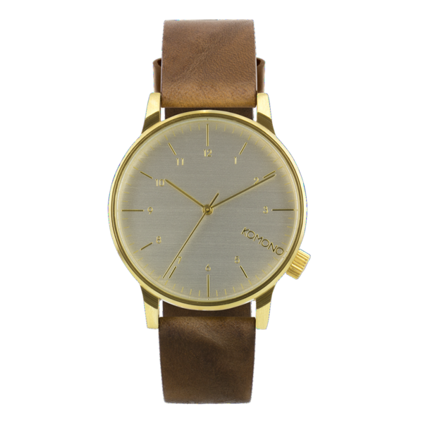 KOMONO Watch WINSTON - Regal Brown