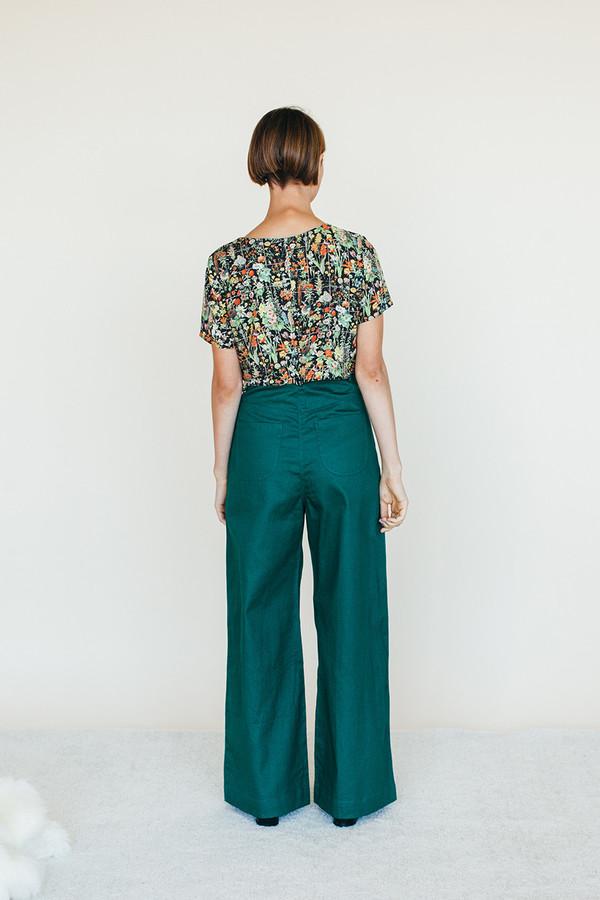 Strata Shirt - Floral Print