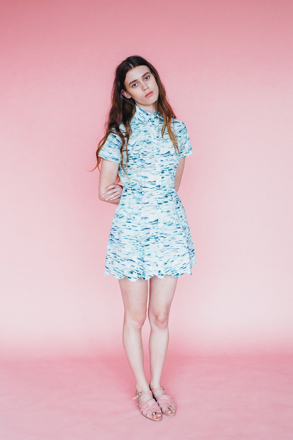Wave dress - Sea print