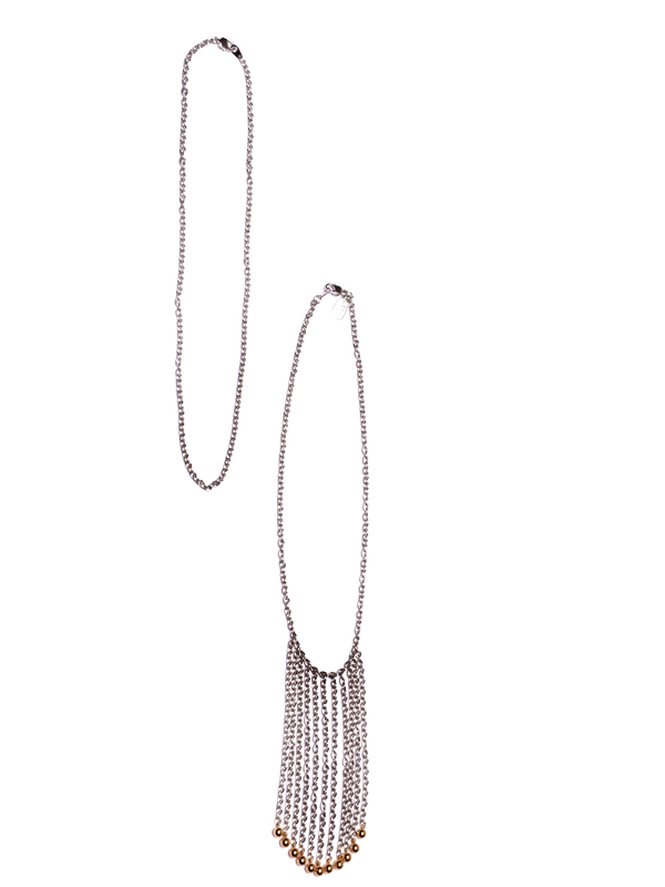 ALYNNE LAVIGNE  Wall of Chain Necklace