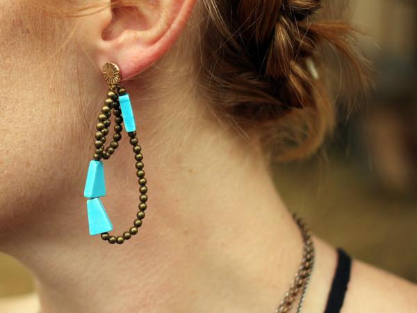 Laurel Hill Red Jasper Cairn Earrings