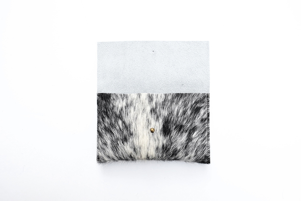 Primecut SALT + PEPPER ENVELOPE CLUTCH #5
