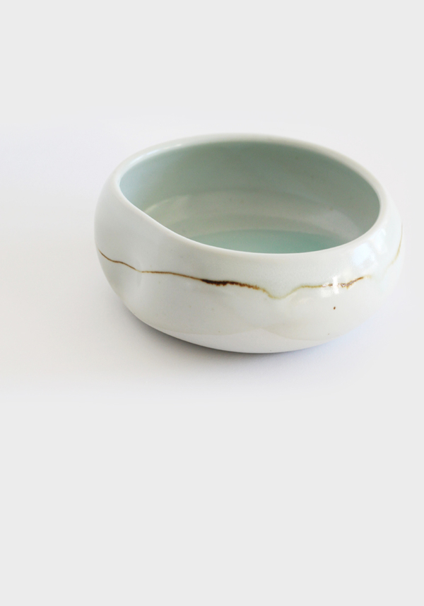 Studio Joo Altered Porcelain Vessel