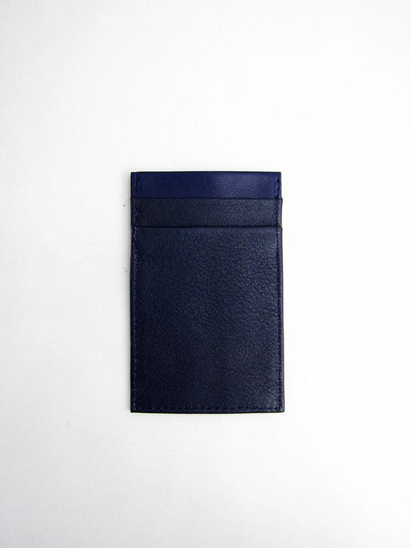 Tsatsas Cream Type 2 Wallet, Navy