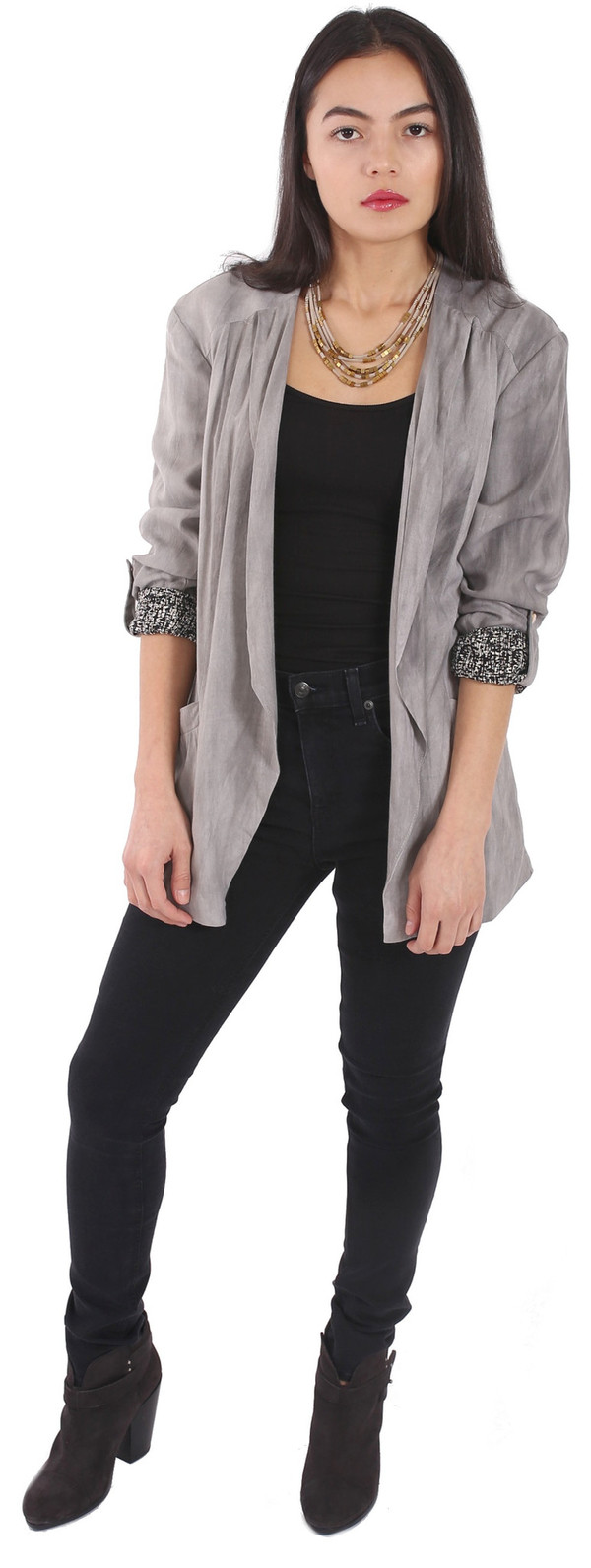 Hazel Soft Open Blazer