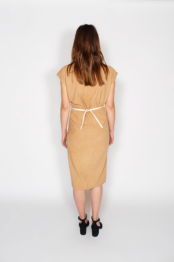 Sale! Tempest Dress, Silk Noil