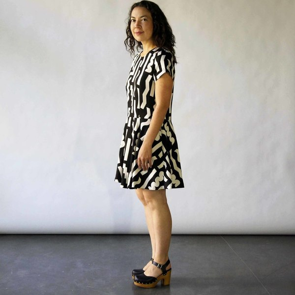 Box Swing Dress