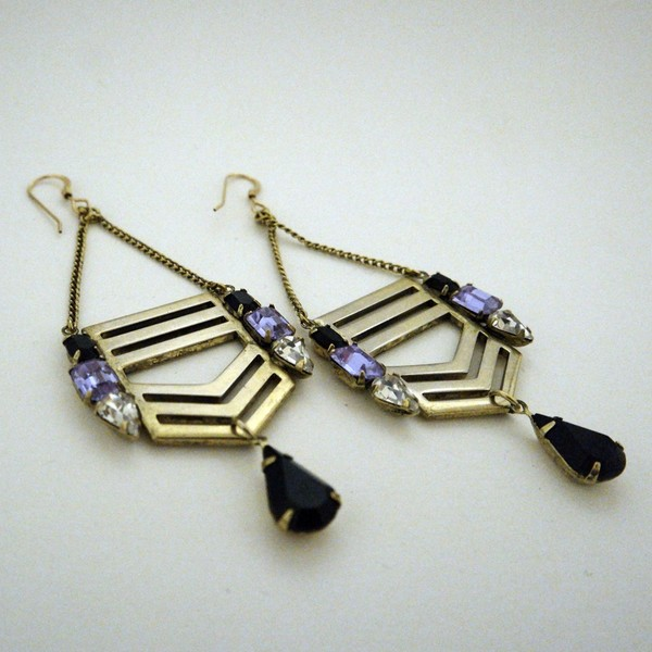 Jené DeSpain Legacy Chevron Earrings