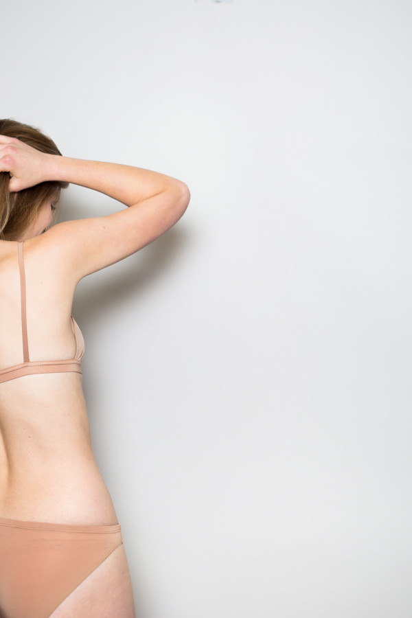 Land Of Women Super Soft Bra / Nude