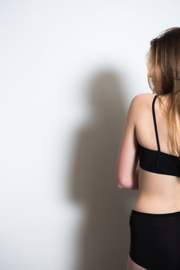 Land Of Women Super Soft Highwaisted Underwear / Black