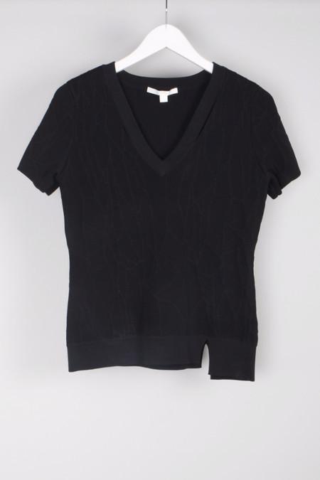Jonathan Simkhai Spill Intarsia Tee Shirt