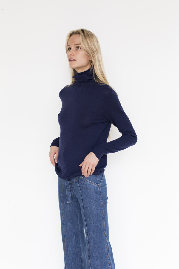 Stoned Immaculate Cotton Delilah Turtleneck