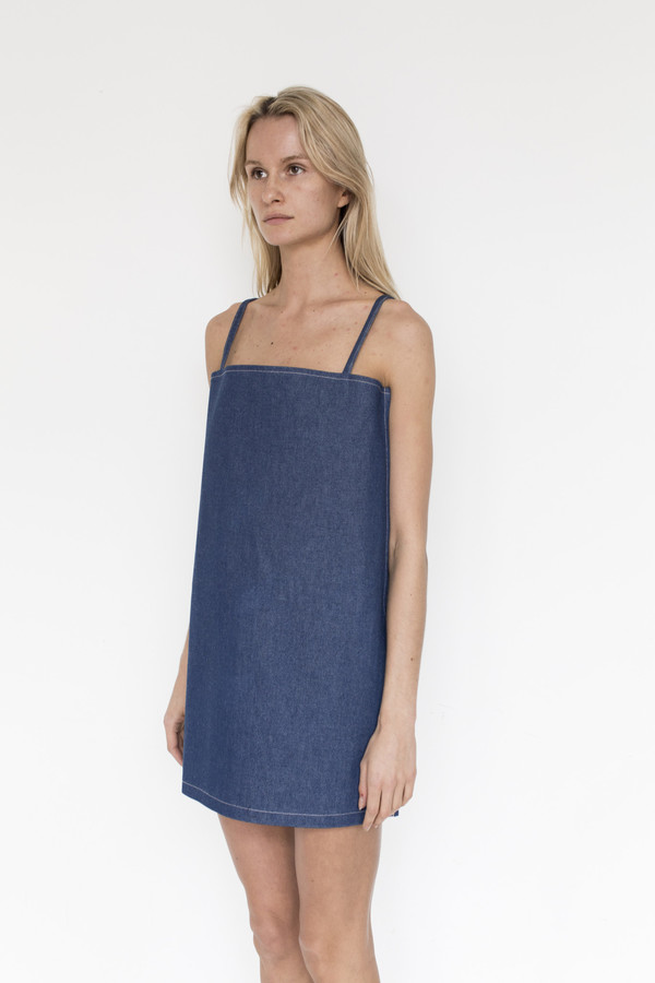 Collina Strada Denim El Morro Dress